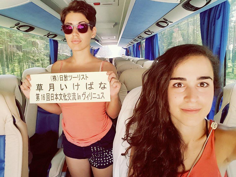 Viaggio Evelyn e Francesca