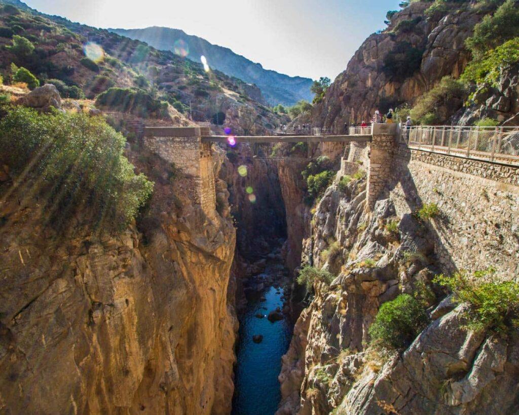 Las Palomas Cliff