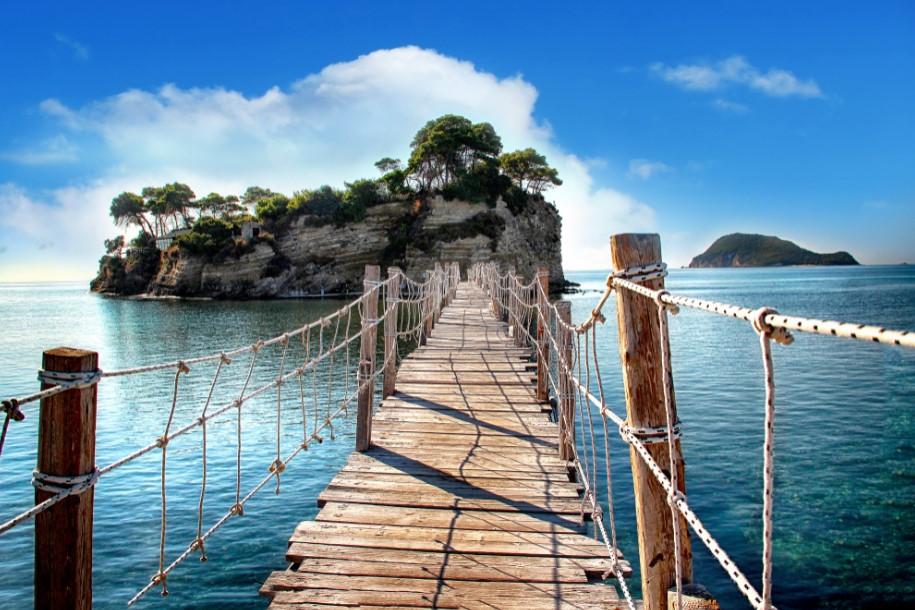 Cameo Island, l'isola nel Parco Marino di Zante